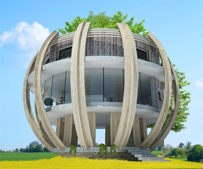 villa sfera  #3